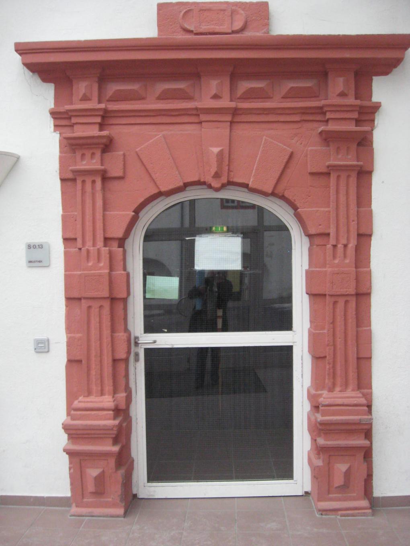 Mediothek Eingang