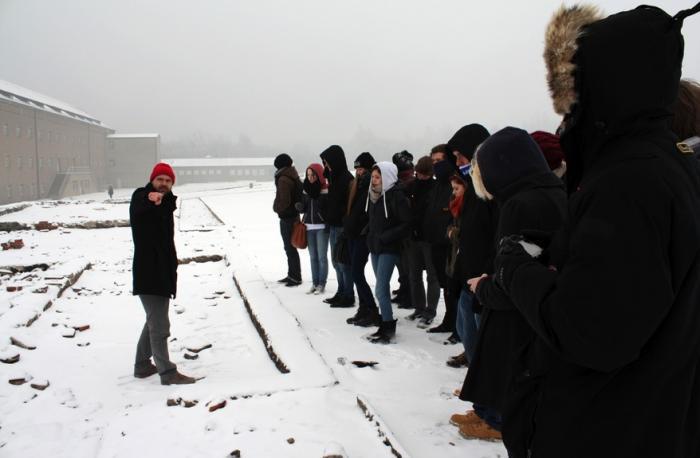 Buchenwald, Besichtigung Lagergelände