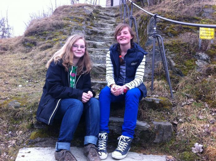 Annika und Julia